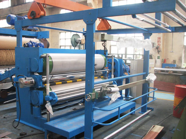 Three Roll Calender For Fabric Guoguang